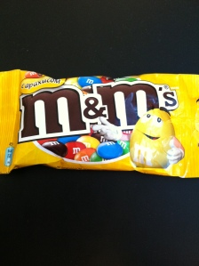 Having a little party with my friends, Peanut M&M
